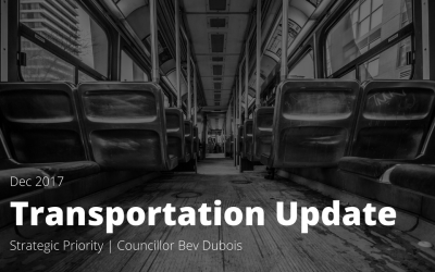 Transportation Update, December 2017