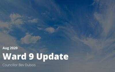 Ward 9 Updates
